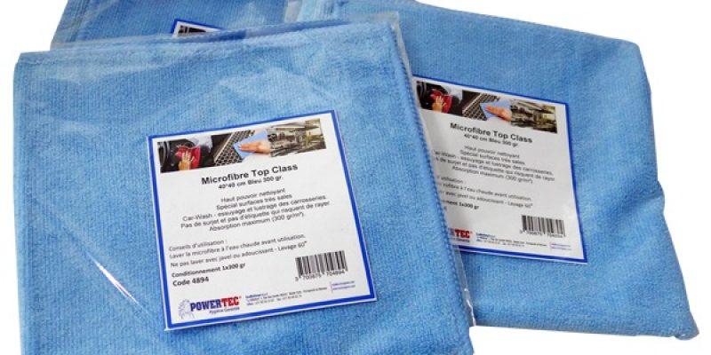 Textiles et matériels de nettoyage